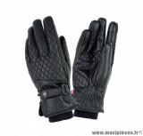 Gants moto femme automne-hiver Tucano Silvya Kady taille M (T8) couleur noir