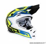 Casque enfant moto cross ProGrip 3009 taille YS couleur bleu/jaune