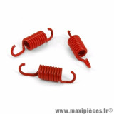 Ressorts masse embrayage (x3) d1,8 pour scooter mbk booster *prix spécial !