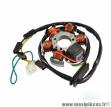 Stator Teknix 80w avec capteur (ducati) pour moto am6 / derbi senda, gpr