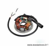 Stator Teknix 5 poles pour scooter / maxiscooter 50-125cc piaggio vespa / ape pk (199500)