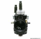 Carburateur 21 type PHBG noir avec depression + graissage (cuve alu, montage souple) pour mécaboite