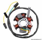 Stator allumage (80w avec capteur sans platine) pour mécaboite derbi senda, gpr / gilera smt, rcr