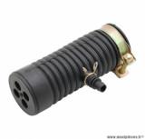 Pipe de filtre à air pour scooter chinois 4T GY6, 139QMB / peugeot kisbee, v-clic 4T / kymco agility 4T / sym orbit 4T / baotian bt49qt 4T