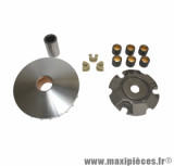 Variateur (6 galets diamètre 19x15.5) pour maxi scooter 125cc piaggio, vespa liberty, lx4