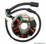 Stator allumage (5 poles) pour scooter vespa pk sans batterie / maxiscooter 125cc piaggio pk (référence origine : 199495)