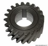 Pignon moteur pour mécaboite minarelli am6 / mbk x-power / yamaha tzr / peugeot xps / rieju rs1 / aprilia rs