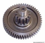 Pignon transmission (primaire) pour scooter mbk ovetto 2T, mach g / yamaha neos 2T, jog