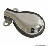 Embout de pot d'échappement chrome (homologué CE) pour maxi scooter piaggio vespa px 125 après 1998