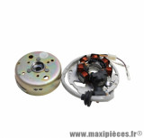 Allumage pour scooter (non catalysé) mbk nitro, ovetto / yamaha aerox , neos / aprilia sr / malaguti f12