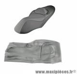 Couvre selle noir standard pour maxi scooter yamaha xmax 125-250cc 2006>2009 (tous modèles sauf sport)