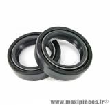 Joints spi (x2) fourche (31 x 43 x 10.5) pour 50 à boite senda / cpi / keeway / scooter chinois / moto city