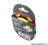 Autocollant liseret fluo jaune pour jante / carrosserie - taille 10m x 6mm