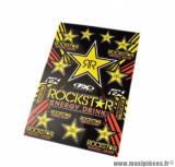 Autocollant (kit déco) marque rockstar - taille 49x33cm