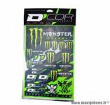 Autocollant (kit multi déco) marque monster energy - taille 50x28cm
