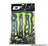 Autocollant (kit déco) marque monster energy - taille 50x28cm