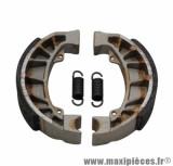 Machoire de frein arrière (diamètre 110 x 25) pour scooter gilera runner, stalker / piaggio hexagon, et2, et4, lx, zip