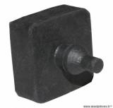 Tampon de béquille centrale noir pour maxi scooter 125cc piaggio vespa px (R.O. 174773)