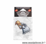 Autocollant animal aigle attack - taille 9x8cm