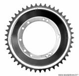 Couronne 45 dents diamètre intérieur 94mm 10 trous pour cyclomoteur Peugeot 103 avec roue acier tôle