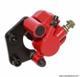 Étrier de frein avant rouge - (livré avec plaquettes) pour scooter generic toxic