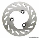 Disque de frein arrière (extérieur 180mm, intérieur 60mm, 3 trous) pour 50 à boite rieju mrt après 2010