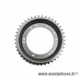 Couronne grimeca / bernardi 42 dents (diamètre 98) 10 trous pour cyclomoteur peugeot 103
