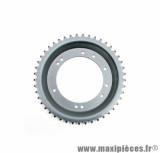 Couronne roue alu grimeca 45 dents (alesage 98mm) 10 trous pour cyclomoteur peugeot 103