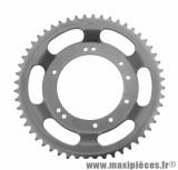 Couronne grimeca / bernardi 52 dents (diamètre 98) 10 trous pour cyclomoteur peugeot 103