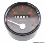 Compteur transval 120km/h (roue de 16 pouces) pour cyclomoteur peugeot 103 sp, spx, rcx