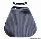 Bavette de garde boue avant noir (avec support fixation) pour cyclomoteur solex
