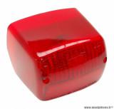 Feu arrière rouge homologué CE pour cyclomoteur peugeot fox