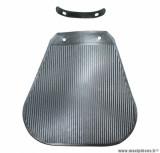 Bavette de garde boue avant gris (avec support fixation) pour cyclomoteur solex
