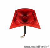 Feu arrière complet rouge pour scooter piaggio zip *Prix spécial !