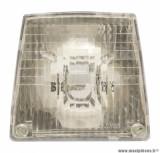 Optique trapezoidale à visser 6v-6w pour cyclomoteur mbk 51
