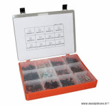 Coffret de vis de carrosserie + attache