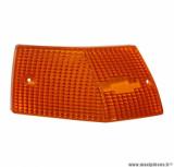Cabochon clignotant arrière gauche orange (homologué CE) pour maxi scooter 125cc piaggio vespa px après 2001
