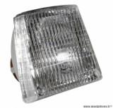 Optique 12v-21w p26s (sans ampoule) pour cyclomoteur mbk 88, 41
