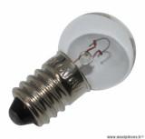 Prix spécial ! Ampoule/lampe à vissée 6v 6w pour projecteur (ep10) avant ancien cyclomoteur
