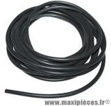 Fil de bougie diamètre 7mm de couleur noir (vendu par 0.50 mètre)