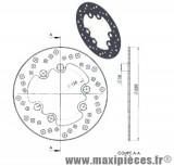 Disque de freins avant diamètre 220 pour suzuki rmx smx ...