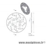 Disque de freins arrière diamètre 185 pour suzuki rmx smx ...