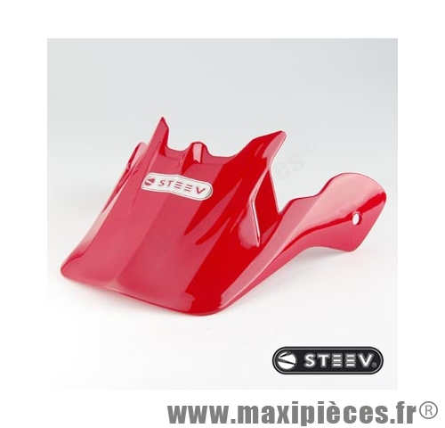 VISIERE CASQUE CROSS SPORTING ROUGE