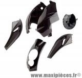Kit carrosserie carénage noir pour peugeot ludix (compteur triangulaire) (5 pièces)