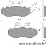 Prix spécial ! Plaquette frein av adaptable rieju rs2 matrix 2004