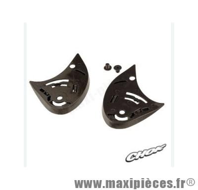 kit fixation ecran casque raptor new design (plaquette noir) v190