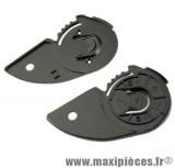 kit fixation ecran casque fighter / lola new design (plaquette noir)