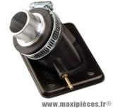 Pipe admission pour carbu de gros diametre pour moteur minarelli am6 aprilia rs rx 50 malaguti xsm xtm peugeot xp6 xps yamaha tzr ...