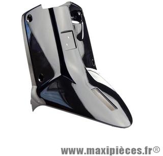 Tablier protège jambe noir brillant pour mbk booster yamaha bws à partir de 2004 et après