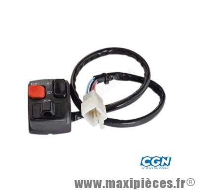 commutateur/commodo gauche adaptable derbi 50cc senda drd gilera rcr smt